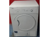 *310 white beko 7kg condenser dryer comes with warranty can be delivered or collected