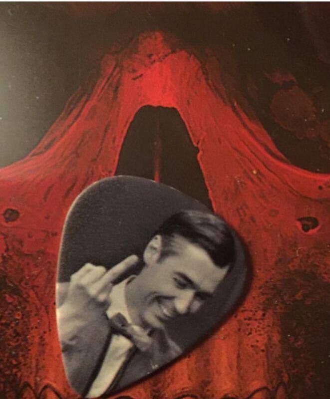 Rare Gary Holt Mr Rogers Guitar Picks! Unused!