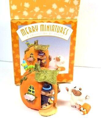 Hallmark Merry Miniatures Halloween set Happy Haunting - Hallmark Halloween Merry Miniatures