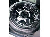 Junk rejekt 4x100 wheels