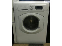 a702 white hotpoint 7kg 1500spin washer dryer comes with warranty can be delivered or collected