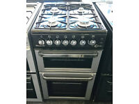 *68 silver flavel 50cm gas cooker comes with warranty can be delivered or collected
