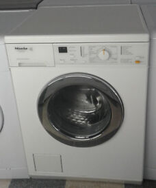 L651 white miele 6kg 1400spin washing machine comes with warranty can be delivered or collected