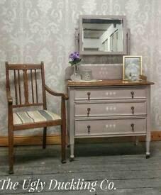 Vintage Annie Sloan Sideboard Dressing Table