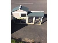 Rabbit hutch two for £60