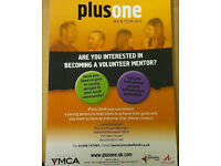 Plusone Volunteer Mentor (youth work)