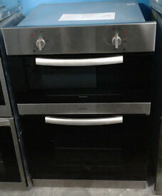 w211 stainless steel diplomat double electric integrated oven comes with warranty can be delivered