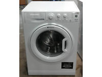 m128 white hotpoint 6kg 1550spin A+ rated washing machine comes with warranty can be delivered
