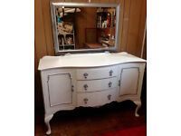 Unique & Chic Sideboard/Dresser. A French inspired Vintage provincial sideboard,