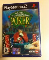 World Championship Poker Ps2 Playstation 2 Nuovo Gioco Game Sigillato - champion - ebay.it