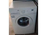 E067 white zanussi 6kg 1200spin washing machine comes with warranty can be delivered or collected