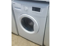 B358 white beko 7kg 1200spin washing machine comes with warranty can be delivered or collected