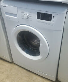 A358 white beko 7kg 1200spin washing machine comes with warranty can be delivered or collected