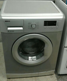 x477 silver beko 6kg 1600spin A+ rated washing machine comes with warranty can be delivered