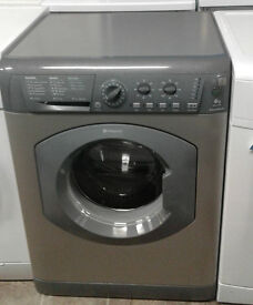 b127 graphite hotpoint 6kg 1400spin washing machine comes with warranty can be delivered
