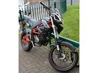 2008 Megelli 125M - Learner Legal 125cc - Only 8600 Miles
