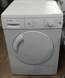 a523 white bosch 7kg condenser dryer comes with warranty can be delivered or collected