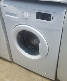 j358 white beko 7kg 1200spin washing machine comes with warranty can be delivered or collected