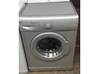 E288 silver beko 5kg 1000spin AA rated washing machine comes with warranty can be delivered