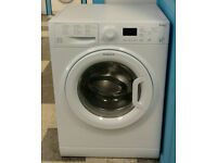 b068 white hotpoint 7kg 1400spin A** rated washing machine come with warranty can be delivered