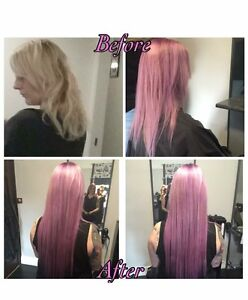 FULL COLOUR + FULL HEAD OF EXTENSIONS ONLY $550 Hobart CBD Hobart City Preview
