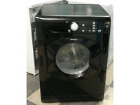 O200 black hotpoint 7kg 1400spin washing machine comes with warranty can be delivered or collected