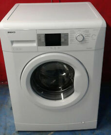 k399 white beko 7kg 1600spin A++ rated washing machine comes with warranty can be delivered