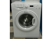 a393 white hotpoint 6kg 1200spin A+ rated washing machine comes with warranty can be delivered