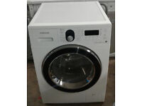 *714 white samsung 7+5kg 1400 spin washer dryer comes with warranty can be delivered or collected