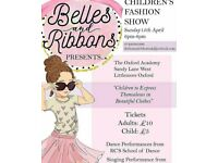 Belles and Ribbons presents The Children's Fashion Show