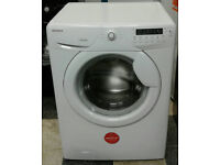 a768 white hoover 8kg 1600spin A+AA rated washing machine comes with warranty can be delivered