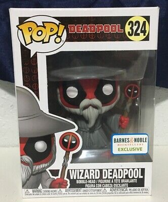 Funko Pop! Marvel: Deadpool - Wizard Deadpool (Barnes & Noble Exclusive) #324