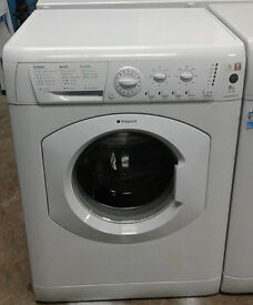 C223 white hotpoint 6kg 1200spin washing machine comes with warranty can be delivered or collected
