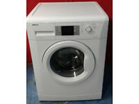 x399 white beko 7kg 1600spin A++ rated washing machine comes with warranty can be delivered