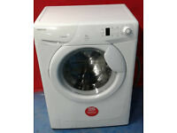 b431 white hoover 7kg 1200spin A+A washing machine comes with warranty can be delivered or collected