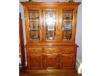 Classic Solid Oak Welsh Dresser