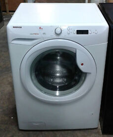 I537 white hoover 8kg 1600spin A++ rated washing machine comes with warranty can be delivered