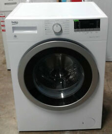 n173 white beko 8kg 1400spin A+++ rated washing machine comes with warranty can be delivered