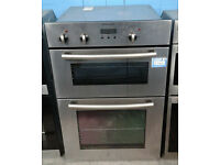Y183 stainless steel electrolux double integrated electric oven comes with warranty can be delivered