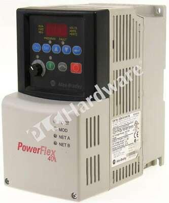 Allen Bradley 22b-d010n104 Series A Powerflex 40 Ac Drive 480v 10a 5hp