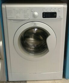 608 white indesit 7kg 1400 spin washing machine with warranty can be delivered or collected