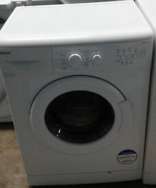 B844 white beko 6kg 1100spin A+ rated washing machine comes with warranty can be delivered