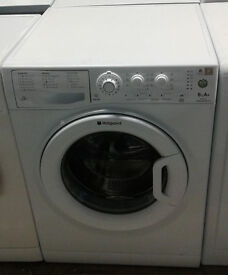b073 white hotpoint 6kg 1200spin A washing machine comes with warranty can be delivered or collected
