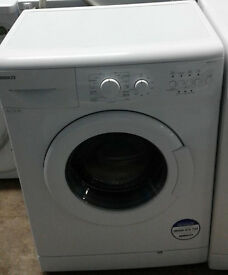 C844 white beko 6kg 1100spin A+ rated washing machine comes with warranty can be delivered