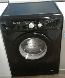 C230 black beko 6kg 1400spin A+A rated washing machine comes with warranty can be delivered