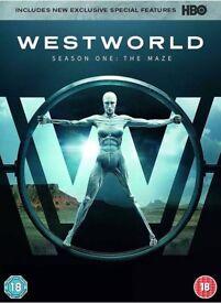 WestWorld [Season 1] DVD - Brand New