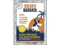 SALSA AND BACHATA CLASSES IN CARDIFF EVERY TUESDAY EVENING