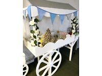 Sweet Cart for Parties, Weddings and Events