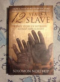 "book ""12 years as a slave"""