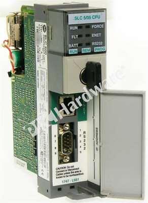 Allen Bradley 1747-l551 Series A Ethernet Rs-232 Processor 16k